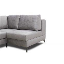 Модульный диван Даллас с полупуфом